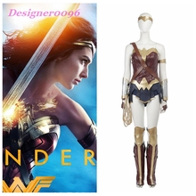 Wonder Woman Cosplay Costume Custom Made Halloween Fancy Costumes Adult Superhero  Outfit   Wonder Woman Diana Prince PVC Suit doctor strange costume dr strange steve cosplay costumes outfit superhero battle suit blue red magic cloak full set custom made