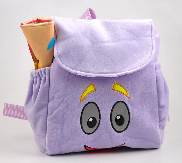 Animation cartoon font b kids b font schoolbags Dora font b Backpacks b font font b