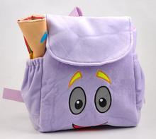 Animación de dibujos animados para niños mochilas mochilas Mochilas para niños pequeños regalos de la felpa de dibujos animados Dora Preescolar Bolsas Niño
