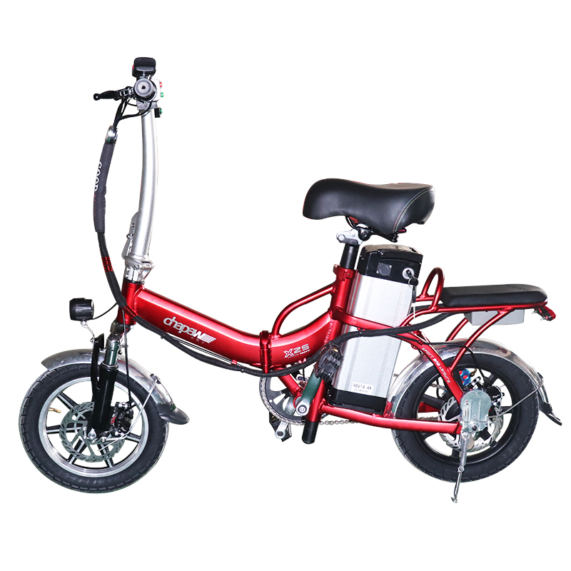 20″ 350W Foldable Electric Bike 36V 12A Samsung Electric Motorcycles Two Seat Road E-Bike Mountain Electric Bicycle Hot Selling