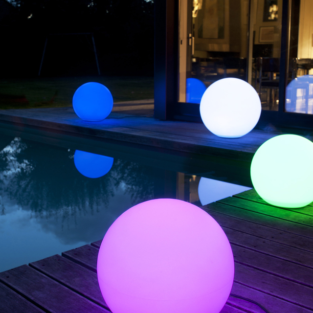 30cm LED furniture lighting swimming pool products IP68 waterproof LED ball  for outdoor pool floating ball - 30cm LED Furniture Lighting Swimming Pool Products IP68 Waterproof
