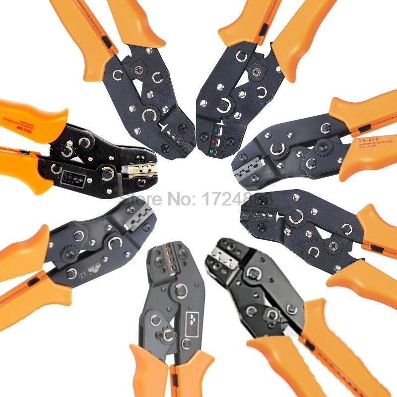 Freeshipping Crimping tool Ratchet terminal line pressing pliers,Crimping Pliers SN-01BM/ 02BM/SN-02C/ 05WF/ 06/ 06WF/ 28B/48B