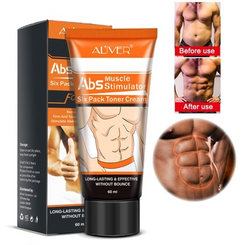 Men's Abdominal Muscle Cream Anti Cellulite Slimming Fat Burning Body Firming Strengthening Belly Tightening - discount item  5% OFF Health Care