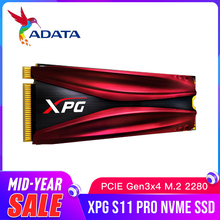 Твердотельный Накопитель ADATA XPG S11 Pro M.2 2280 GAMMIX PCIe Gen 3x4 для настольного ноутбука, внутренний жесткий диск 256G 512G M.2 SSD