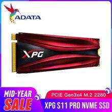 ADATA XPG S11 פרו M.2 2280 מצב מוצק כונן GAMMIX PCIe Gen 3x4 עבור מחשב נייד שולחן עבודה פנימי קשה כונן 256G 512G M.2 SSD