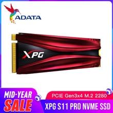 Adata xpg s11 pro m.2 2280 솔리드 스테이트 드라이브 gammix pcie gen 3x4 노트북 데스크탑 내장 하드 드라이브 256g 512g m.2 ssd