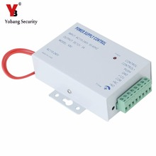 YobangSecurity AC 110-240V to DC 12V 3A Power Supply For Door Access Control Worldwide Voltage