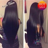 Angel GraceHair Brazilian Virgin Hair Straight 3pcs/lot Hair Bundles 8A Grade Unprocessed Human Hair Extensions Annabelle Hair
