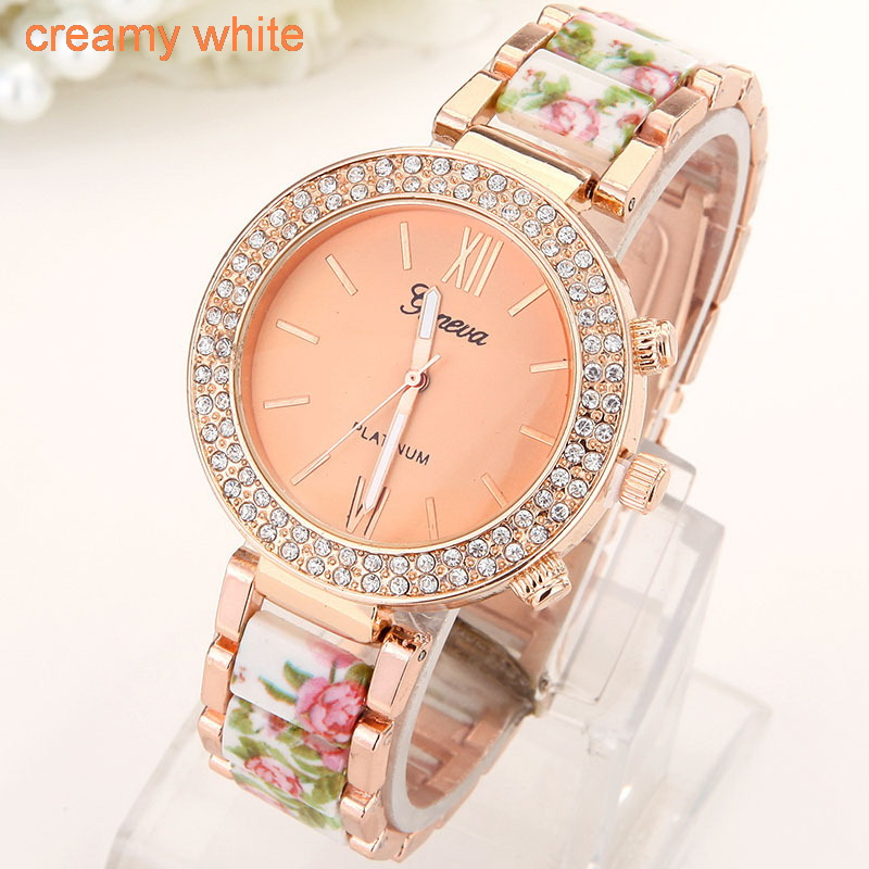 Flowers Women Watch  (3)