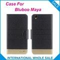 5 colores estupendos! Bluboo Maya caso moda negocios Cierre magnético Flip de cuero caso exclusivo para bluboo Maya cover Phone bag