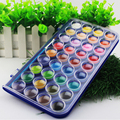 Solid gouache paint set with watercolor powder set art supplies in case for kids painting utensils 36 colors Painting Materials