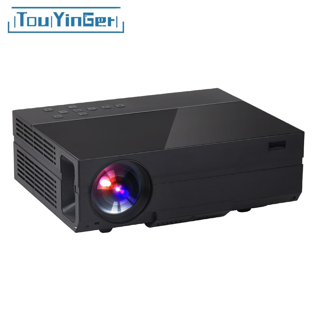 Touyinger X10 T26 T26K светодио дный фильм проектор full HD 1920 * 1080px 3500 люмен домашний мультимедийный проектор домашнего видео Театр мультимедиа HDMI/VGA/AV