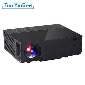 Touyinger X10 T26 T26K filme LEVOU Projetor full HD 1920 * 1080px 3500 4000 Lumens Projetor de Vídeo Home Theater Multimídia HDMI/VGA/AV