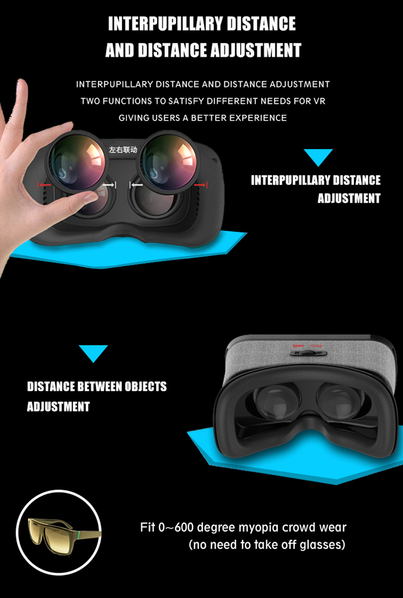 17 VR Shinecon 3D Immersive Virtual Reality Glasses Cardboard Wearable VR Box Headset for 4.3-6.0 inch Smartphone + Controller 13