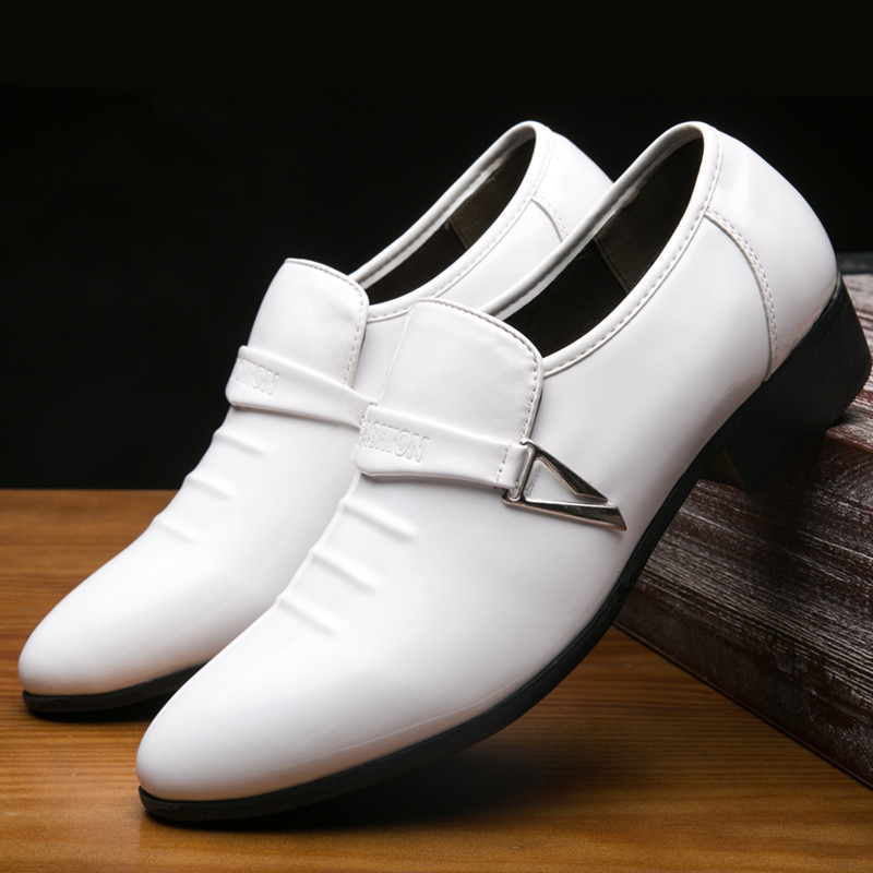 Smooth Mocassini eleganti Merkmak Mocassini nuziale High Mocassini festa la marroni mocassini eleganti bianchi Mans eleganti bianchi mocassini neri Shoes per PPxFwRpOq