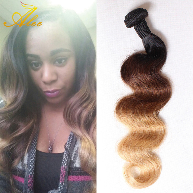 Ombre Bohemian Hair Extension Bundles Grade 8abohemia Virgin Hair