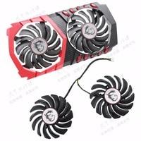 Original For MSI GTX1050Ti GTX1050 Graphics Card Cooling Fan PLD09210S12HH