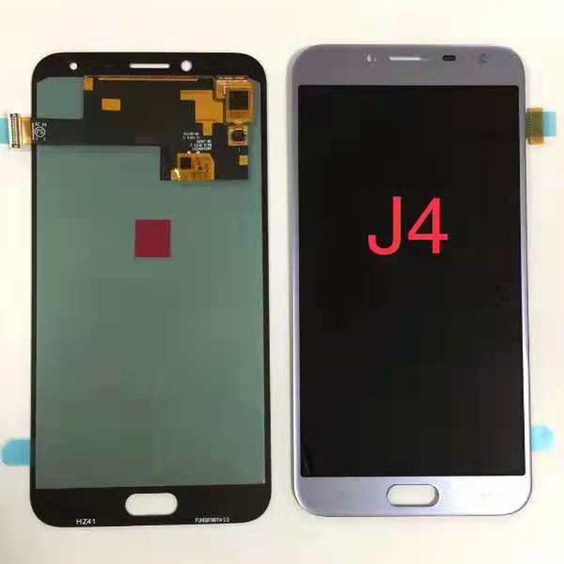 AMOLED LCD Pour Samsung Galaxy J4 2018 J400 J400F lcd J400H J400G J400P J400M Affichage tactile assemblée d'écran