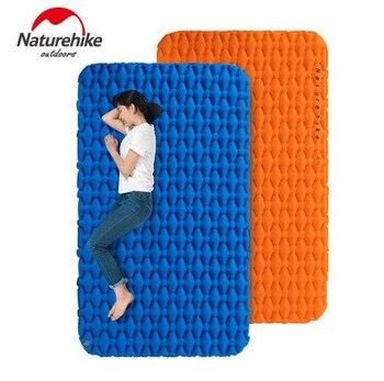 Naturehike 1-2 Person Lightweight Moisture-proof Air Mattress TPU Sleeping Pad Inflatable Mattress Camping Mat цена 2017