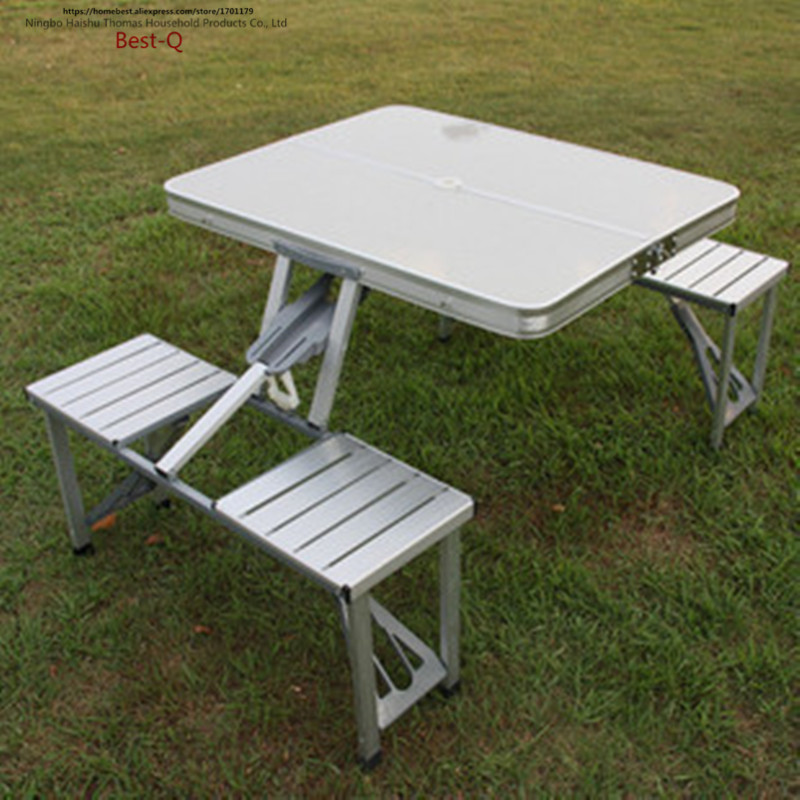 Free shipping Hand held portable aluminum folding table outdoor picnic  tables  outdoor furniture folding. Online Get Cheap Metal Garden Table  Aliexpress com   Alibaba Group