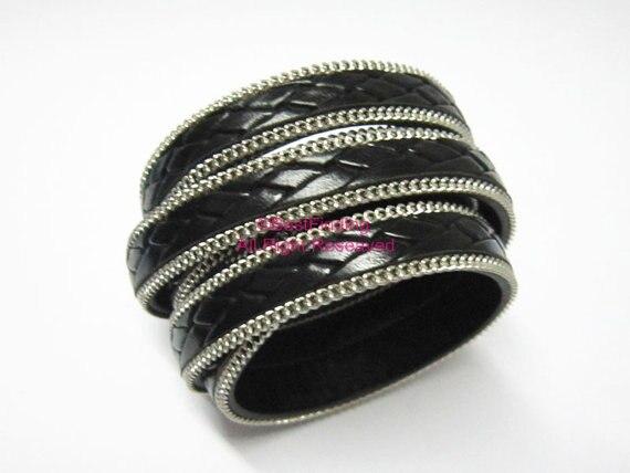 10mm Nero serpente piatto cavo di cuoio 10x2mm Python in pelle cavo piatto 52aa5640920