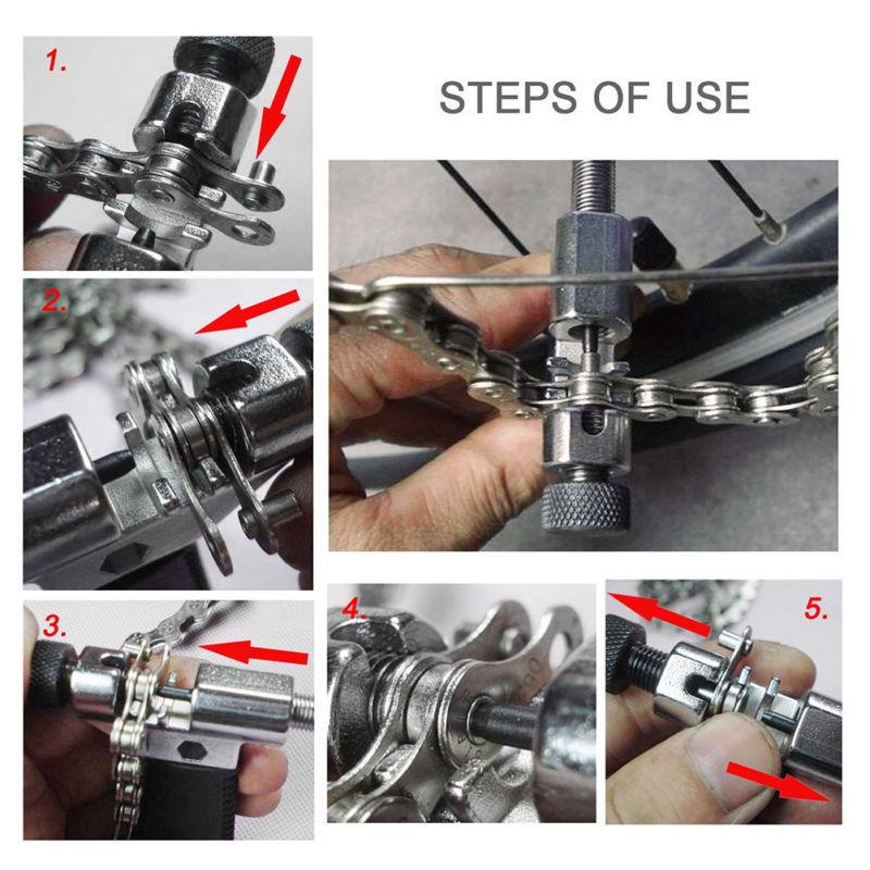 1 шт. универсальная велосипедная цепь для ремонта, разветвитель, инструмент для удаления заклепок, Аксессуары для велосипеда и T8