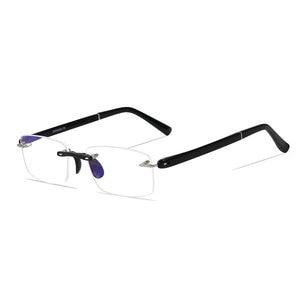 Image 3 - نظارات للقراءة مع حافظة + 1.00 + 1.50 + 2.00 + 2.50 + 3.00 + 3.50 + 4.00 TR90 Oculos de Leitura بدون إطار مضاد للانعكاس