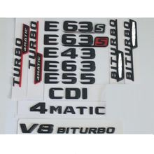 Значки эмблемы для mercedes benz w212 w213 e43 e53 e55 e63 e65