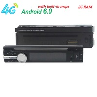 7 1 Din 2G RAM Android 6 0 Universal Car Radio Quad Core 1024 600 HD