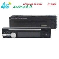 7 1 Din 2G RAM Android 6 0 Universal Car Radio Quad Core 1024 600 HD