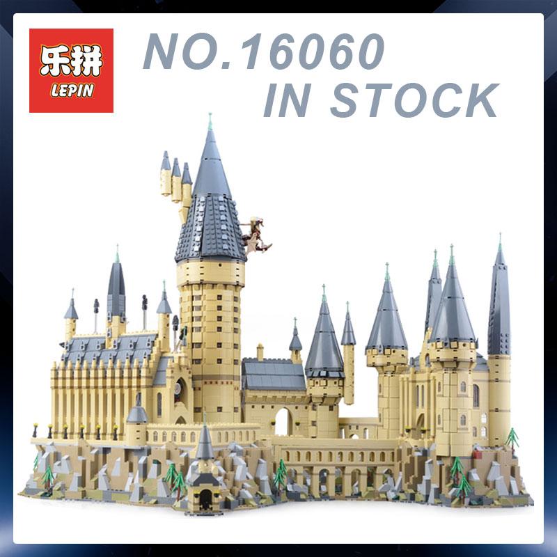 Lepin 16060 Harry Magia Potter Hogwarts Castello Compatibile Building Blocks Mattoni Legoing 71043 Giocattoli Educativi Regali Di Natale