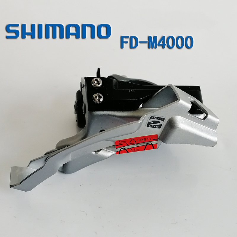 SHIMANO ALIVIO M4000 9-SPEED TRIPLE DOWN SWING MTB FRONT BIKE DERAILLEUR