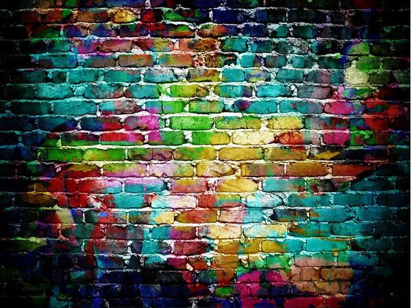 SHANNY 10x8ft inyl personnalisé photographie décors Prop Photo Studio fond Graffiti YR-72