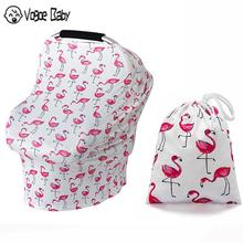 New Mom Nursing Cover Scarf Canopy Breastfeeding Cover Flowel Multifunction Cape Baby Stroller Cover Infant Car Seat Cover 7479 цена