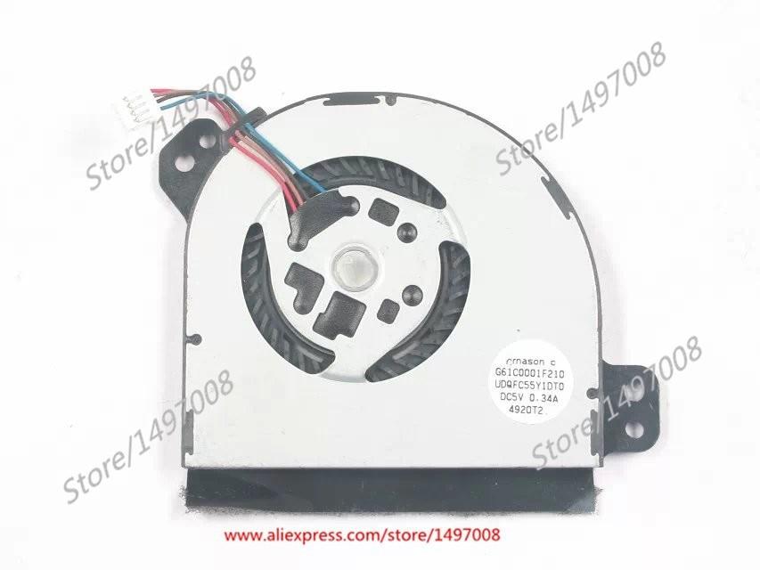 Emacro G61C0001F210 UDQFC55Y1DT0 DC 5 V 0.34A WT310 Portege Z10T-A Sunucu Blower FanEmacro G61C0001F210 UDQFC55Y1DT0 DC 5 V 0.34A WT310 Portege Z10T-A Sunucu Blower Fan