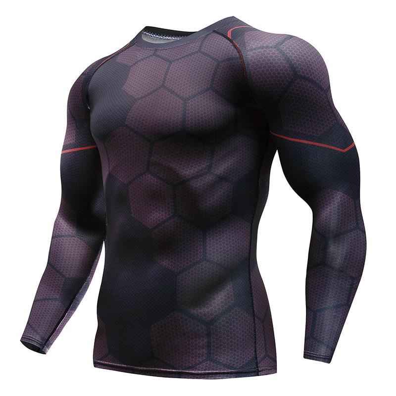 2018 Marvel Captain America Super Hero compression Civil War Tee 3D Printed T-shirts Men fitness Clothing T shirt large size 4XL