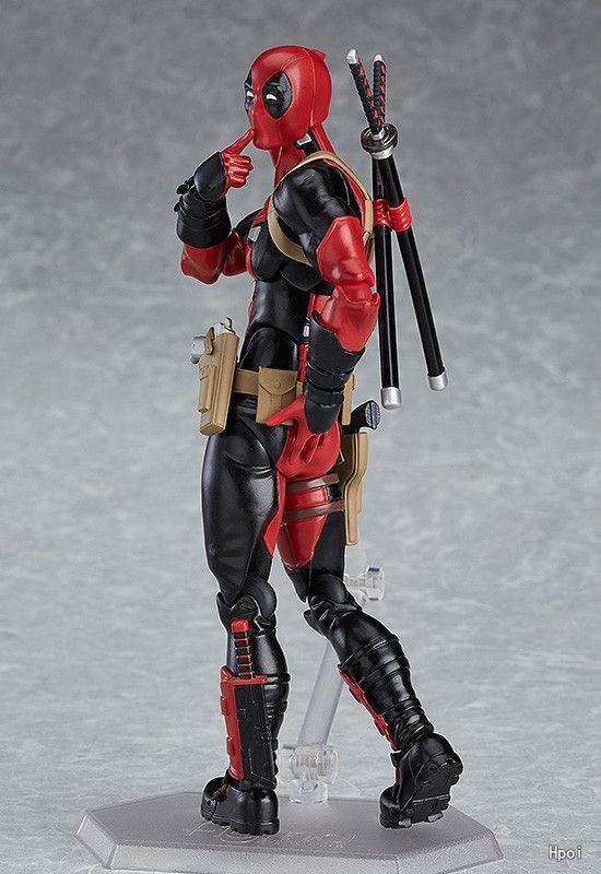 Marvel 15cm X-MAN Figma 353 Deadpool BJD PVC Figurine Modèle Jouets