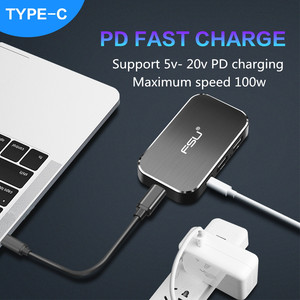 Image 3 - Thunderbolt 3 USB Hub USB C to HDMI 4k 60Hz Type c 3usb3.0 PD 100W Charger Adapter 5 in 1 converter for MacBook pro PS4 Laptop