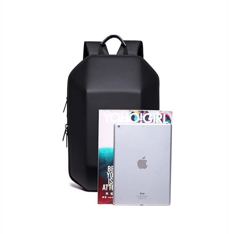 Backpacks Men's Bags 2018 New Designed 3d Abs Shell Backpack Simple Pure Color Computer Backpack Novelty Student Bag Men And Woman Travel Backpacks Durable In Use