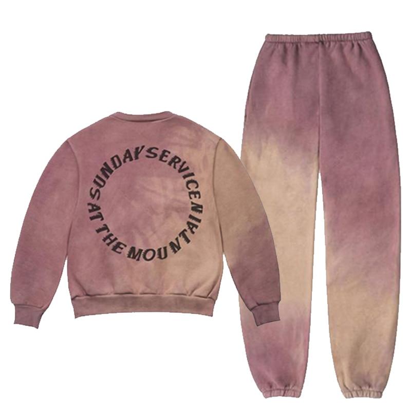 2019 nouvelle conception de mode marque Hip Hop hommes femmes Kanye ouest saint esprit Hoodies coton 100% 1:1 hommes s sweat pantalon - 2