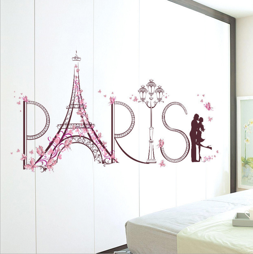 Stunning Eiffel Tower Bedroom Decor Pictures   Home Design Ideas .