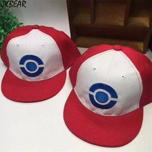 Adorable Pokemon Go Ash Ketchum Hats for Kids Cute Satoshi Adjustbale Caps for Youth Boys and Girls Lovely Toddler Snapbacks