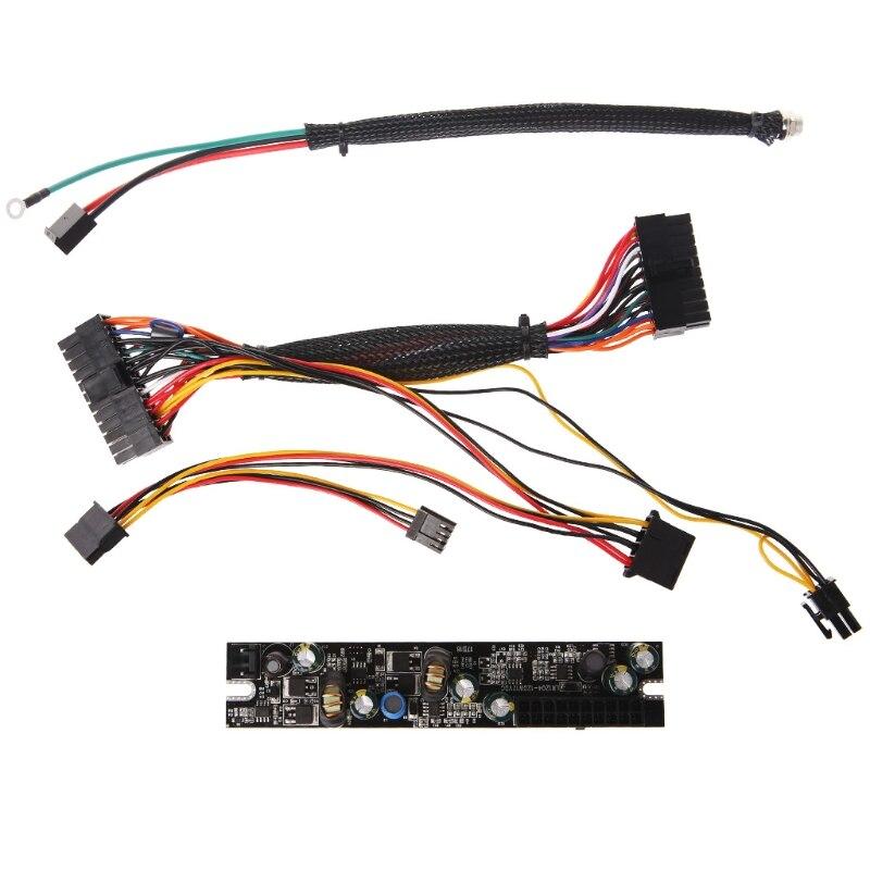 Tablette-DC 12 V 120 W Pico PSU 24Pin Mini ITX DC à ATX PC Module d'alimentation avec câble