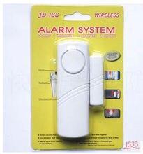 1 قطعة جهاز استشعار مغناطيسي لاسلكي المنزل نافذة باب دخول مكافحة لص نظام إنذار أمان