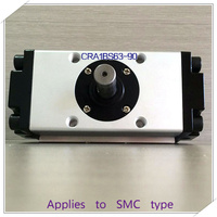 SMC type CRA1BS63 90 CRA1BS 63 90 rack and pinion oscillating cylinder