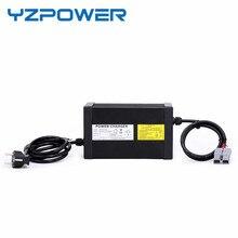 YZPOWER 9A 8A 7A 6A 71.4 V 10A Carregador de Bateria De Lítio Carregador Rápido para 60 V Ebike Bateria com 4 Ventilador de refrigeração