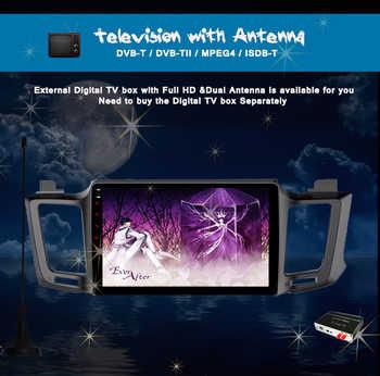 For Toyota RAV4 Rav 4 2013 2 din ips hd 1280*720 car gps navigation multimedia stereo pc music media unit octa core android 10.0