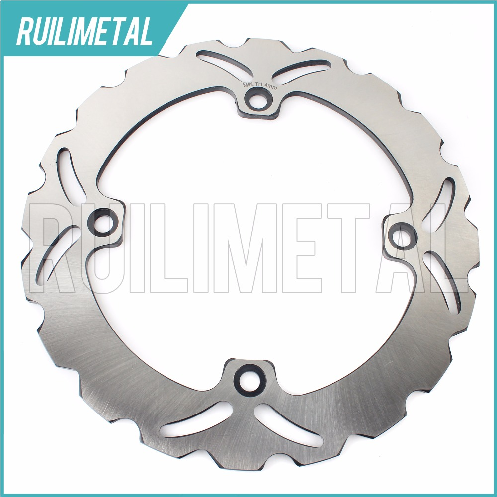 Rear Brake Disc Rotor for HONDA VF500 XRV R AFRICA TWIN 750  XL 1000 V Varadero  linked brake system 1999 2000 2001 2002 молдинги honda xrv