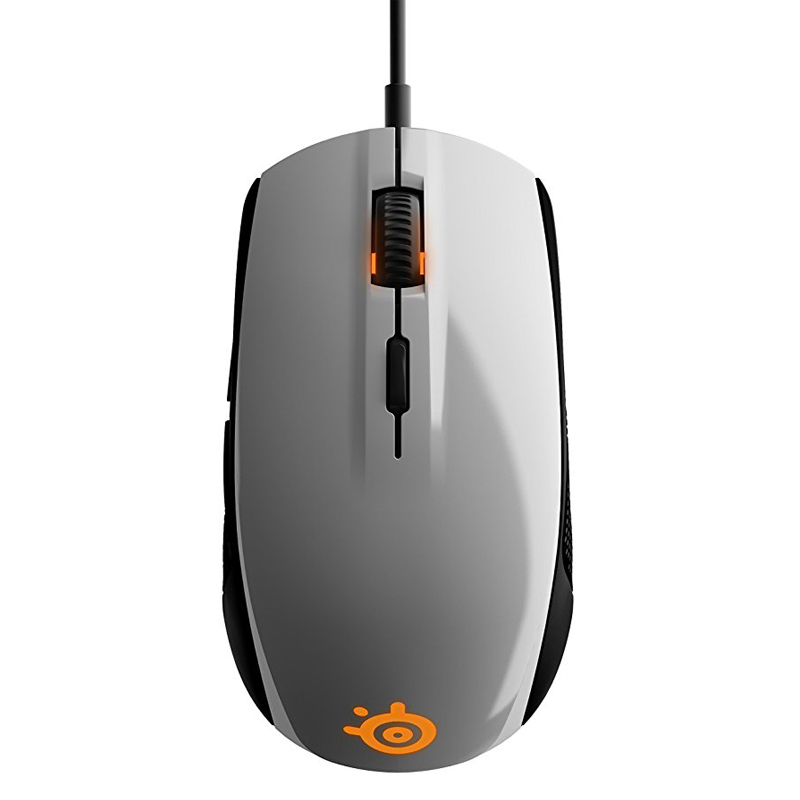 SteelSeries Rival 100  Gaming Mouse Mice USB Wired Optical Mice 4000DPI Mouse With Prism RGB Illumination free gift mouse pad 1