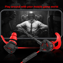 1.2m Wired Earphone Gaming Earbuds E-Sports Noise Cancelling In-Ear Earphones Wi